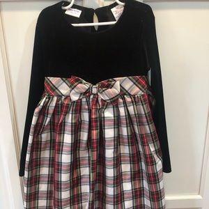 Blueberi holiday plaid dress 👗 girls 6